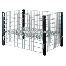 Heavy duty wire basket wire mesh display stand